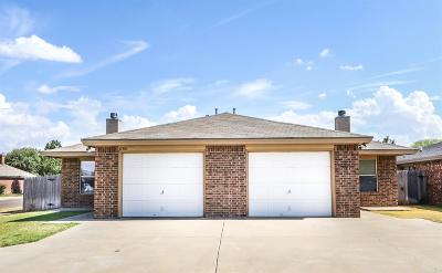 Lubbock Multi Family Home Under Contract: 6301 7th Street
