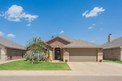 Lubbock Single Family Home For Sale: 9207 Trenton Avenue