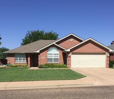 Lubbock TX Single Family Home Under Contract: $181,500