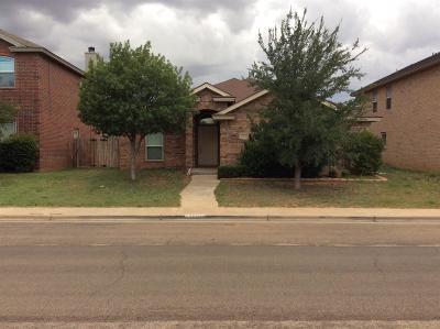 Lubbock Single Family Home For Sale: 10830 Detroit Avenue