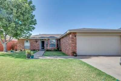 Lubbock Single Family Home Under Contract: 2204 89th Street