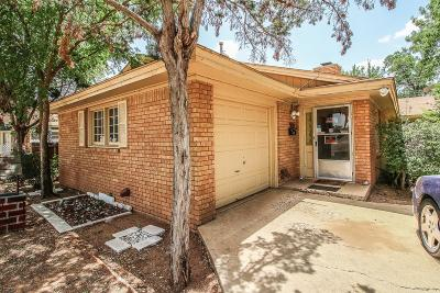Lubbock Single Family Home For Sale: 2131 51st Street