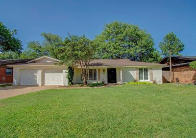 Lubbock Single Family Home Under Contract: 6205 Lynnhaven Drive
