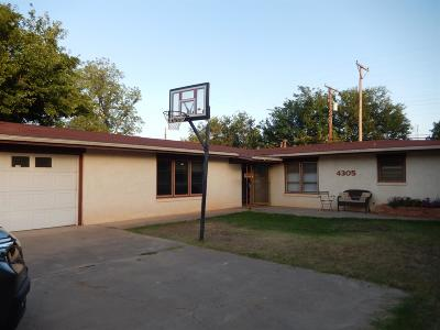 Lubbock Single Family Home For Sale: 4305 47th Street