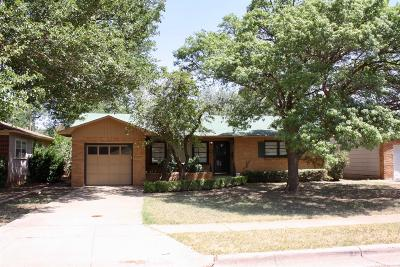 Lubbock Single Family Home For Sale: 3104 39th Street