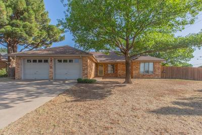 Lubbock Single Family Home For Sale: 5802 Dartmouth Street