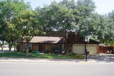 Lubbock Single Family Home For Sale: 5522 68th Street