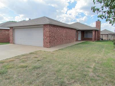 Lubbock Single Family Home For Sale: 6510 86th Street