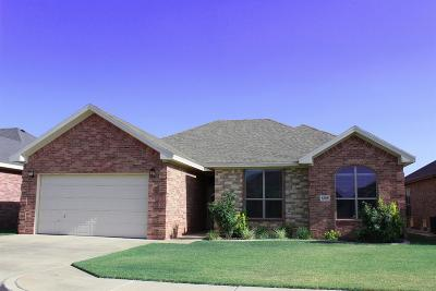 Lubbock Single Family Home For Sale: 6305 93rd Street