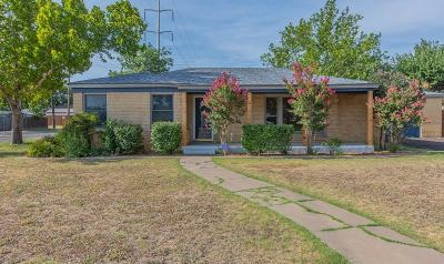 Lubbock Single Family Home For Sale: 3001 32nd Street