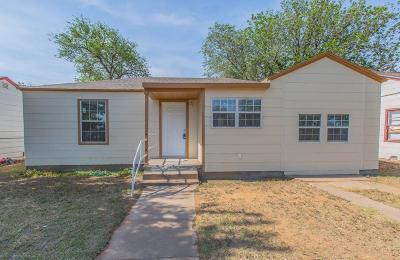 Lubbock Single Family Home For Sale: 3307 1st Street