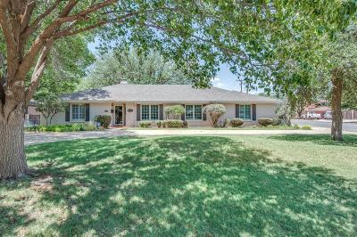 Lubbock Single Family Home For Sale: 3802 64th Drive