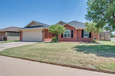 Lubbock Single Family Home For Sale: 5421 101st Street