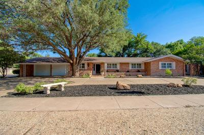Lubbock Single Family Home For Sale: 3201 42nd Street