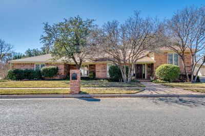 Lubbock Single Family Home For Sale: 8430 Wayne Avenue