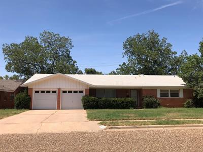 Lubbock Single Family Home For Sale: 2118 67th Street
