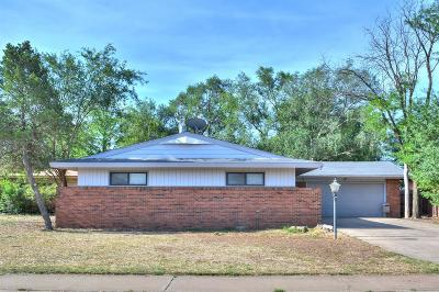 Lubbock Single Family Home Under Contract: 3803 47th Street