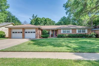Lubbock Single Family Home For Sale: 3708 69th Street