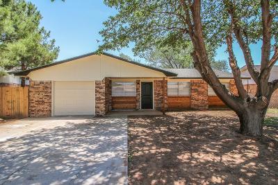 Lubbock Single Family Home For Sale: 7415 Globe Avenue