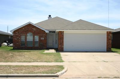 Lubbock Single Family Home For Sale: 1607 78th Street
