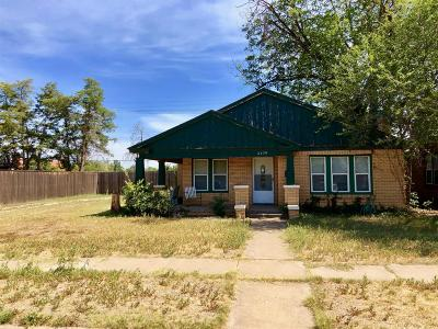 Lubbock Single Family Home For Sale: 2109 17th Street