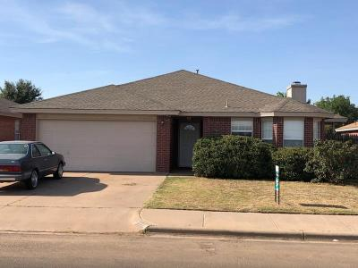 Lubbock Single Family Home For Sale: 2718 88th Street