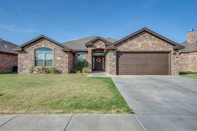 Lubbock Single Family Home For Sale: 7209 Pontiac Avenue