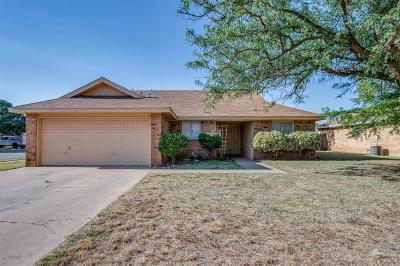Lubbock Single Family Home For Sale: 2226 85th Street