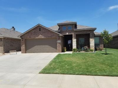 Lubbock TX Single Family Home Under Contract: $199,750