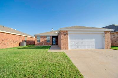Lubbock Single Family Home For Sale: 2111 99th Street