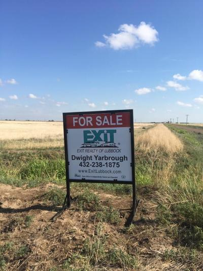 Plainview TX Residential Lots & Land For Sale: $786,500
