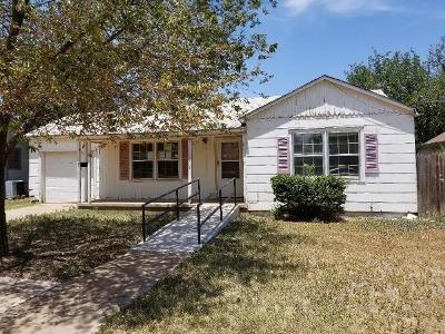 Lubbock Single Family Home For Sale: 1912 45th Street