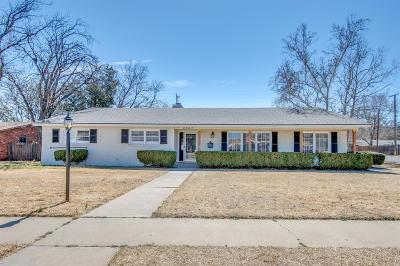 Lubbock Single Family Home For Sale: 2521 53rd Street