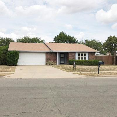 Lubbock TX Single Family Home For Sale: $112,000