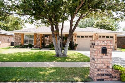 Lubbock TX Single Family Home Under Contract: $225,000