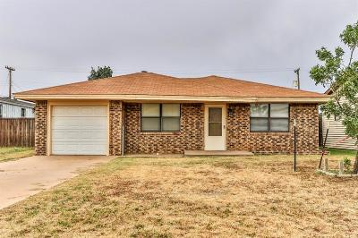 Slaton Single Family Home Under Contract: 1345 S 11th Street