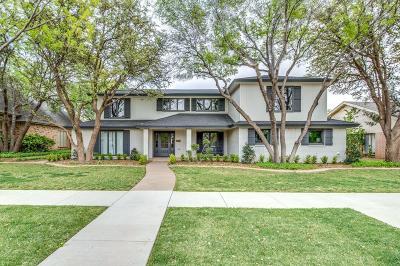 Lubbock Single Family Home For Sale: 9609 Vicksburg Avenue