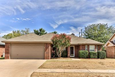 Lubbock Single Family Home Under Contract: 2734 80th Street