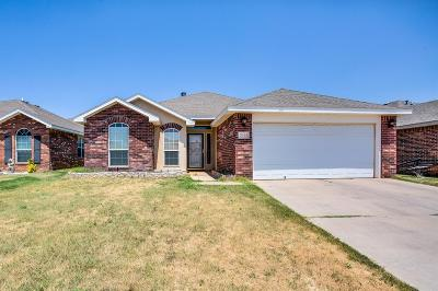 Lubbock TX Single Family Home Under Contract: $149,900