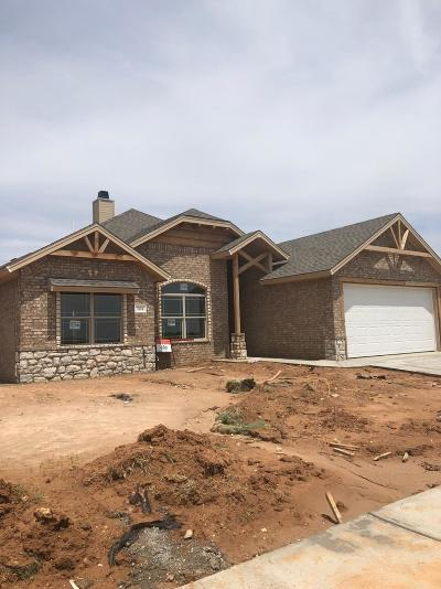 Lubbock Single Family Home Under Contract: 7616 87th Street