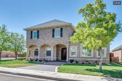 Lubbock Single Family Home For Sale: 3901 103rd Street