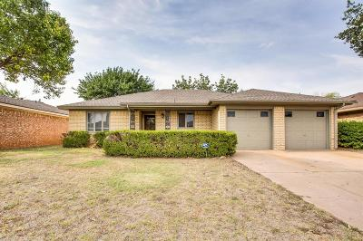 Lubbock Single Family Home For Sale: 4815 58th Street