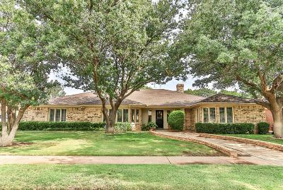 Lubbock Single Family Home For Sale: 4302 93rd Street