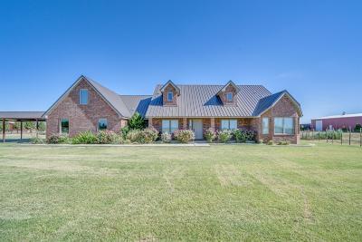 Slaton  Single Family Home Under Contract: 4427 E Farm Road 1585