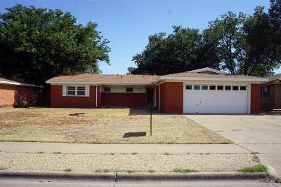 Lubbock Single Family Home For Sale: 4609 31st Street