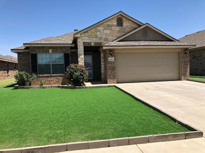 Lubbock TX Single Family Home For Sale: $179,900