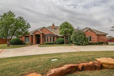 Lubbock TX Single Family Home For Sale: $649,500