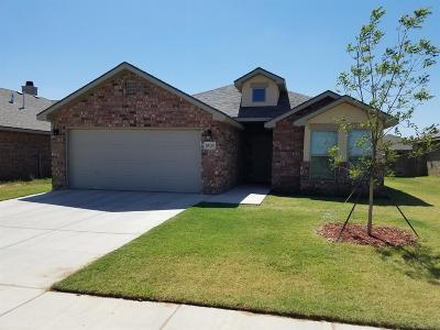 Lubbock TX Single Family Home For Sale: $182,000