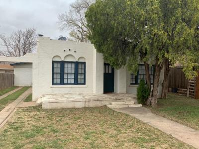 Lubbock Single Family Home For Sale: 2406 21st Street