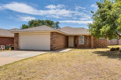 Lubbock Single Family Home For Sale: 6309 32nd Street